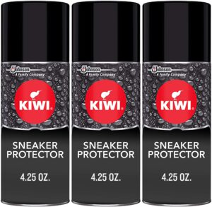 KIWI Sneaker and Shoe Waterproofer Spray - Top Quality Shoe Protecto