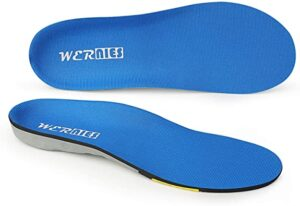 The WERNIES Running Shoe Inserts - Cushioned Insole For Running Shoes