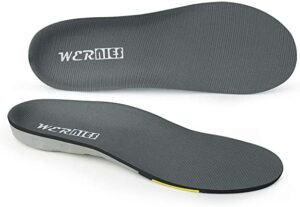 Wernies Running Shoe Inserts - Arch Support For Flats